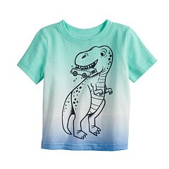 Baby Boy Jumping Beans® Dinosaur Dip Dyed Graphic Tee