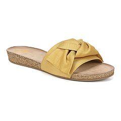 48ac17fdf3 Fergalicious Fergie Moshi Women's Slide Sandals
