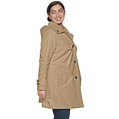 48e0284931176 Plus Size TOWER by London Fog Hooded Raincoat