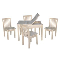International Concepts Juvenile 5-piece Dining Table & Mission Chair Set