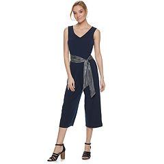 Women's ELLE™ Belted Jumpsuit