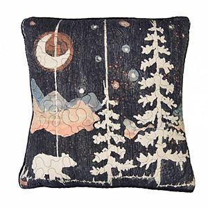 Donna Sharp Moonlit Bear Decorative Throw Pillow