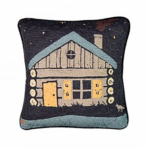 Donna Sharp Moonlit Cabin Decorative Throw Pillow