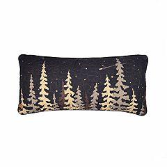 Donna Sharp Moonlit Cabin Oblong Decorative Pillow