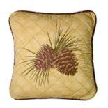 Donna Sharp Brown Antler Decorative Pillow