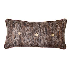 Donna Sharp Brown Antler Oblong Decorative Pillow