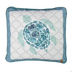 Donna Sharp Summer Surf Turtle Decorative Pillow