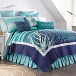 Donna Sharp Summer Surf Quilt or Sham