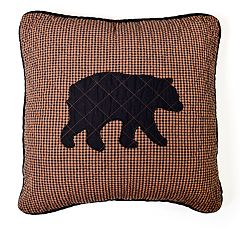 Donna Sharp Bear Star Decorative Throw Pillow