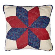 Donna Sharp Gatlinburg Star Decorative Throw Pillow