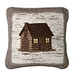 Donna Sharp Birch Forest Cabin Decorative Pillow
