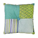 Donna Sharp Riptide Patch Decorative Throw Pillow