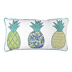 Donna Sharp Riptide Patch Oblong Decorative Pillow