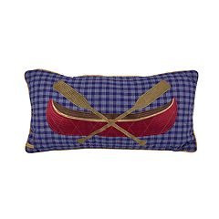 Donna Sharp Lakehouse Oblong Decorative Pillow