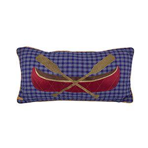 Donna Sharp Lakehouse Oblong Decorative Pillow