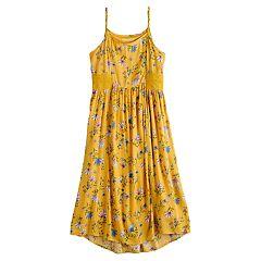 405d1289bb6 Girls 7-16 Mudd® Crochet Midi Dress