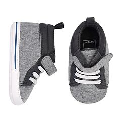 Baby Boy Carter's High-Top Sneaker Crib Shoes