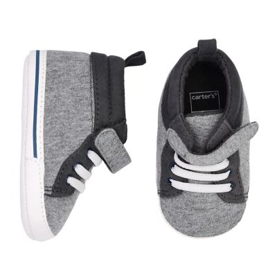 Baby Boy Carter's High-Top Sneaker Crib Shoes