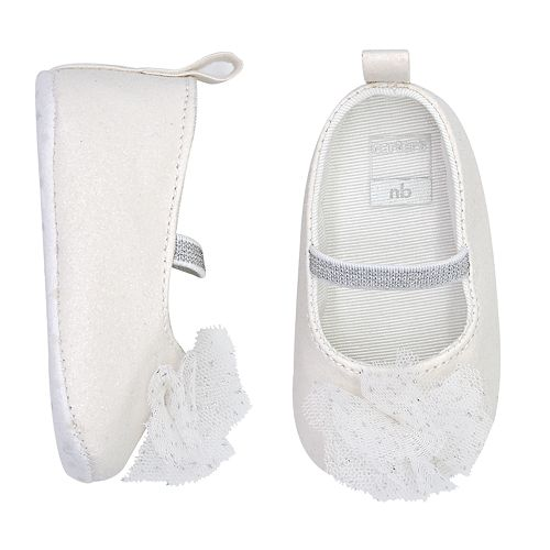 Baby Girl Carter's Flower Mary Jane Crib Shoes
