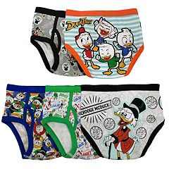 Boys 4-8 Duck Tales 5-Pack Briefs