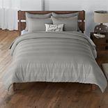 Sonoma Goods For Life® Barlow Waffle Stripe Comforter Set with Shams