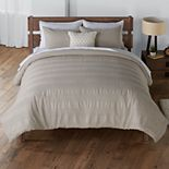 SONOMA Goods for Life® Barlow Waffle Stripe Comforter Set with Shams