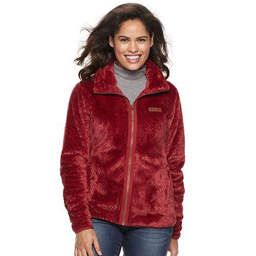 Women's Columbia Fireside High Pile Fleece Jacket