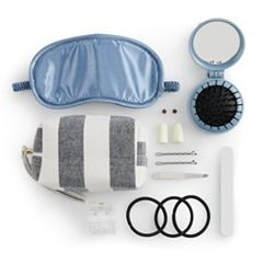 LC Lauren Conrad Chambray Stripes Travel Rescue Kit