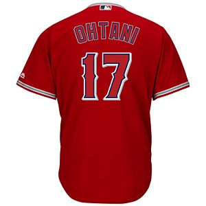 c7059a30f Men s Majestic Los Angeles Angels of Anaheim Cool Base Replica MLB Jersey.  Sale