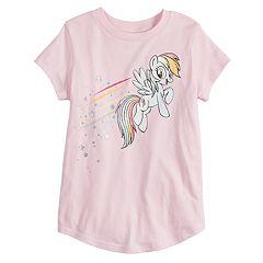 Girls 4-12 Jumping Beans® My Little Pony Rainbow Dash Graphic Tee 1aa5b40a6