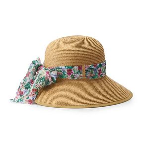 Women's Dana Buchman Backless Floppy Hat