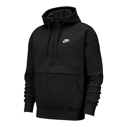 Big & Tall Nike Sportswear Club Fleece 1/2-Zip Hoodie