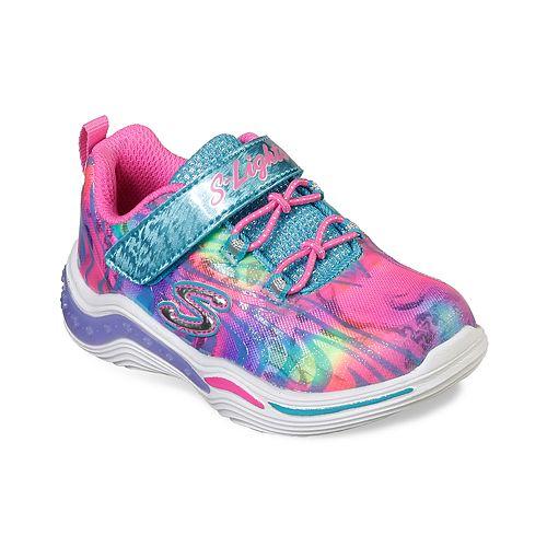 43b0f427a57e Skechers S Lights Power Petals Toddler Girls  Light Up Shoes