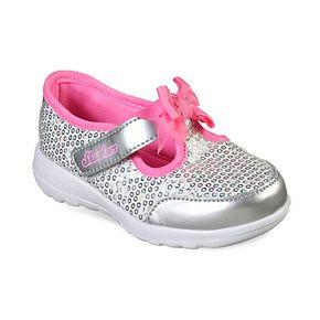 Skechers GOwalk Joy Sugary Sweet Toddler Girls' Sneakers