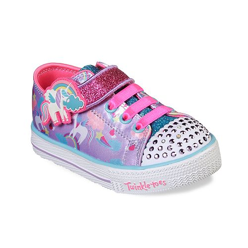 Skechers Twinkle Toes Twinkle Lite Toddler Girls' Light Up Shoes