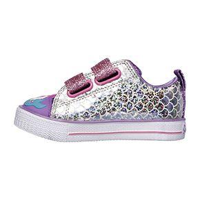 Skechers Twinkle Toes Twinkle Lite Mermaid Parade Toddler Girls' Light Up Shoes