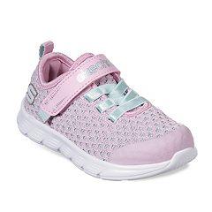 Skechers Comfy Flex Sparkle Dash Toddler Girls' Sneakers