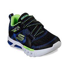 4fb51ff81015 Skechers S Lights Flex-Glow Parrox Toddler Boys  Light Up Shoes