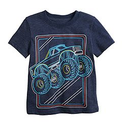 Toddler Boy Jumping Beans® Monster Truck Slubbed Graphic Tee