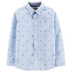 Boys 4-14 OshKosh B'gosh® Shark Button Down Shirt