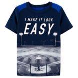 "Boys 4-14 OshKosh B'gosh® Baseball ""I Make It Look Easy"" Graphic Tee"