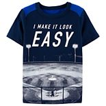 "Boys 4-14 OshKosh B'gosh® Baseball ""I Make It Look Easy"" Graphic Tee"