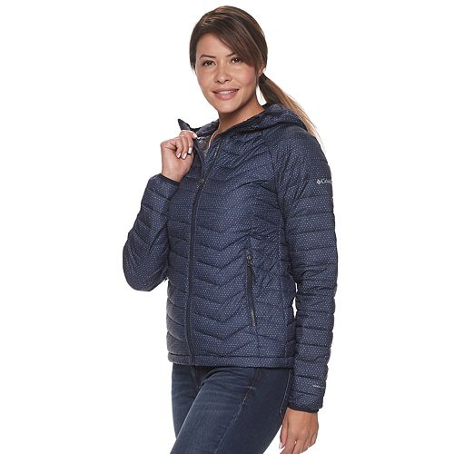 Women's Columbia Powder Lite Omni Heat Hooded Jacket