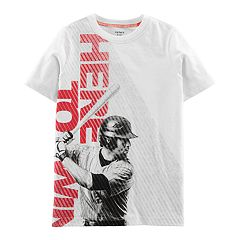Boys 4-14 Carter's 'Here To Win' Baseball Graphic Tee
