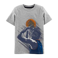 Boys 4-14 Carter's 'King of the Hoop' Basketball Front & Back Graphic Tee