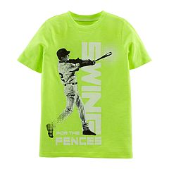 Boys 4-14 Carter's Baseball 'Swing For The Fences' Graphic Tee