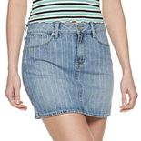 Juniors' Mudd® 5-Pocket Clean Hem Mini Skirt