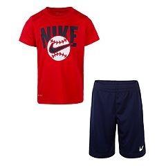 Boys 4-7 Nike Shorts Graphic Tee & Shorts Set