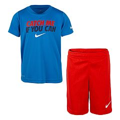 Boys 4-7 Nike 'Catch Me If You Can' Graphic Tee & Shorts Set