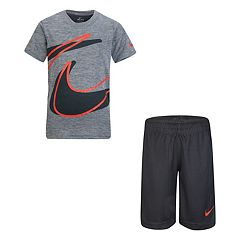 Boys 4-7 Nike Wrap Logo Graphic Tee & Shorts Set